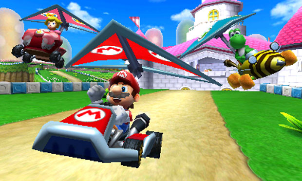 'Mario Kart 7' chega no início de novembro para o Nintendo 3DS (Foto: Divulgação)