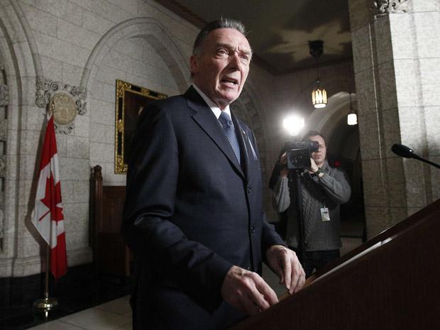 Peter Kent, ministro do Meio Ambiente do Canadá (Foto: Reuters/Chris Wattie)