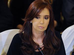 Cristina Kirchner durante cúpula do mercosul em dezembro. (Foto: AFP)