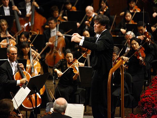 Filarmônica de Nova York (Foto: Neilson Barnard/AFP )