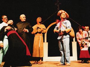 """""""Auto da Compadecida"""" se apresenta no Teatro Santa Isabel. (Foto: Marcelo Lyra/Divulgação)"""