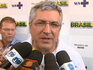 O Ministro da Saúde, Alexandre Padilha, fala sobre os problemas na saúde da região (Foto: Reprodução/EPTV)