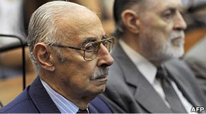 O ex-ditador argentino Jorge Videla (Foto: AFP)