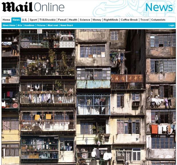 Foto mostra como a população vivia em Kowloon Walled (Foto: Reprodução)
