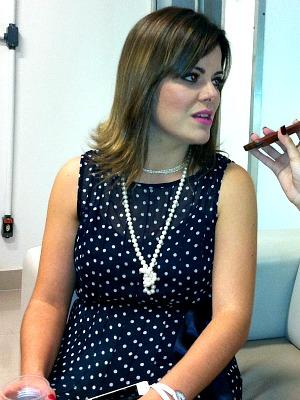 Ana Paula Valadão está em Manaus acertando os detalhes da gravação do CD/DVD (Foto: Muniz Neto/G1 AM)