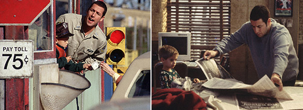 Sonny (Adam Sandler) adota um menino e se mete em muitas confusões
