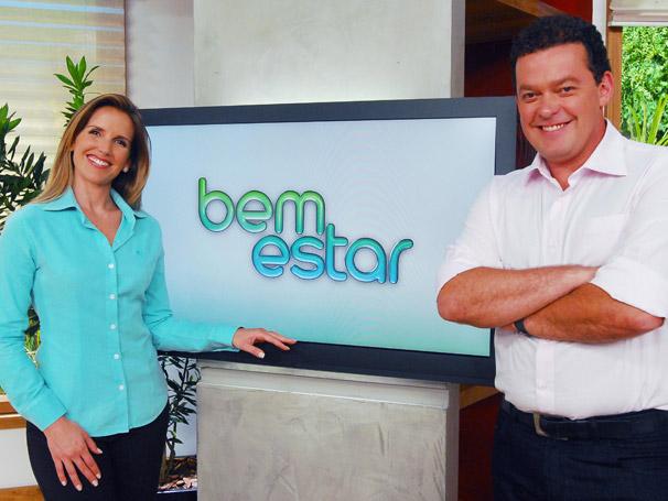 Mariana Ferrão e Fernando Rocha apresentam Bem Estar (Foto: Divulgação/ TV Globo)