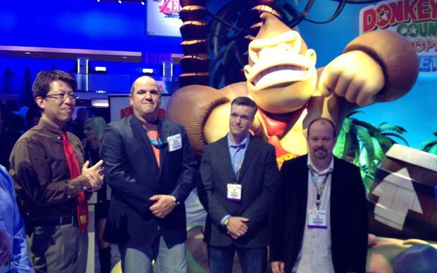 Donkey Kong Country: Tropical Freeze foi uma das novidades da Nintendo na E3 2013 (Foto: Reprodução / Spencer Stachi)