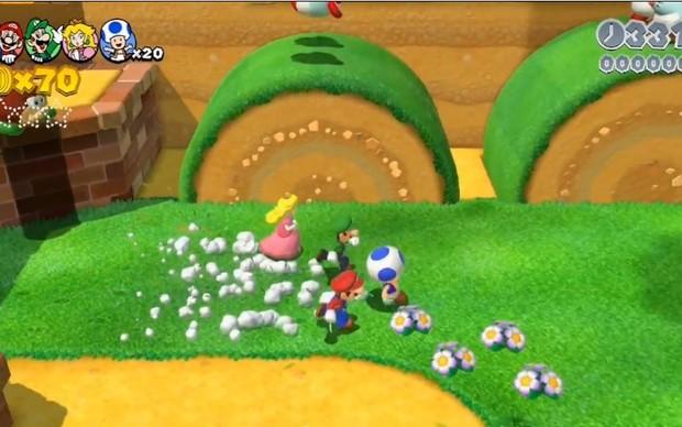 Super Mario 3D World (Foto: Reprodução)