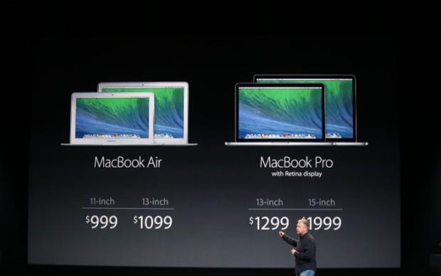 Preços dos novos MacBooks (Foto: Reprodução)
