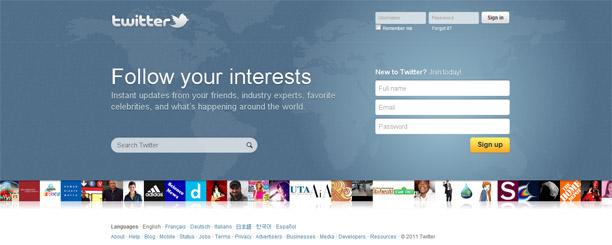 Novo layout da home do Twitter (Foto: Reprodução)