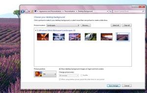 Papéis de parede no Windows 8 (Foto: Reprodução)