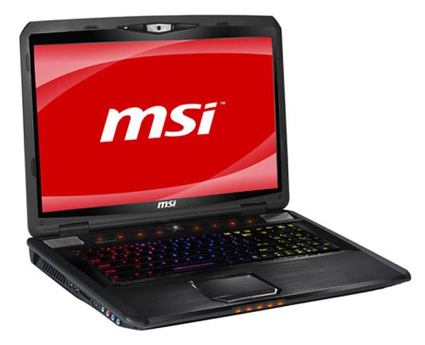 MSI GX780 (Foto: Divulgação)