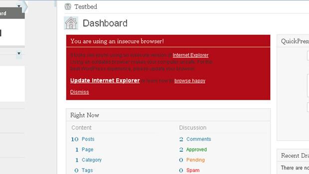 WordPress terá nova interface. (Foto: Divulgação)