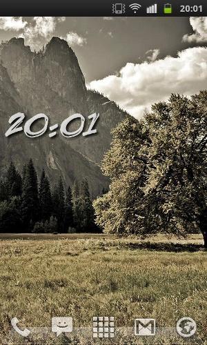ClockQ - digital clock widget (Foto: Divulgação)