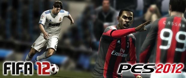 FIFA 12 e PES 2012 (Foto: Reprodução)