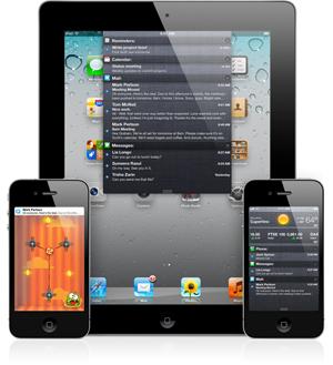 Notificações no iOS 5 (Foto: Divulgação)