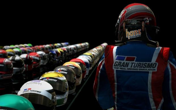 Novos capacetes em GT5 (Foto: Divulgação)