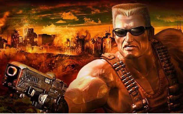 """Duke Nukem, um dos maiores """"badasses"""" dos games (Foto: Divulgação)"""