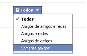 Configurações de conexões no Facebook (Foto: Reprodução/TechTudo)