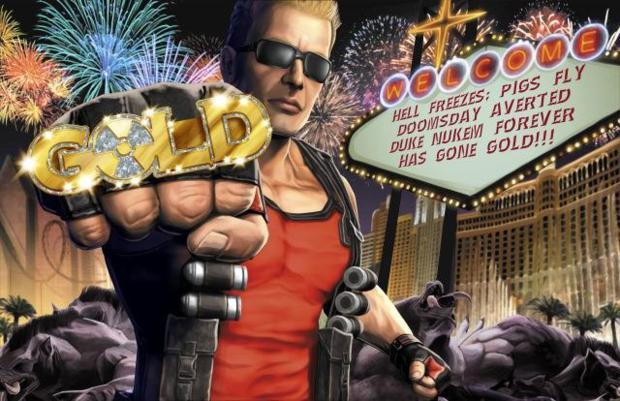 Para a Take-Two, Duke Nukem pode ser uma mina de ouro a se explorar  (Foto: Divulgação)