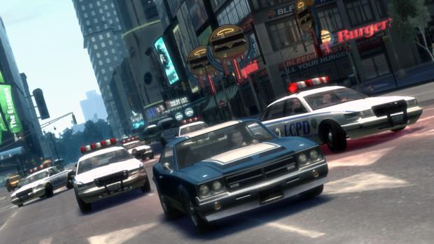 A polícia é o maior empecilho de GTA (Foto: Divulgação)