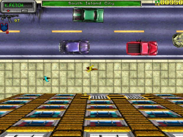 """""""Grand Theft Auto"""" de 1997 (Foto: Divulgação)"""
