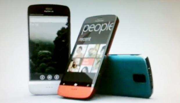 Supostos celulares Nokia com Windows Phone 7 (Foto: Reprodução)