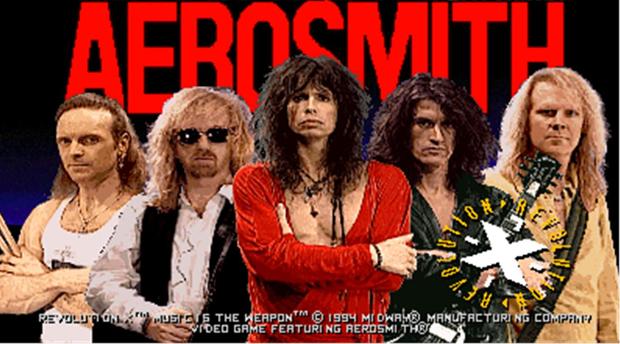 Aerosmith em Revolution X (Foto: Divulgação)