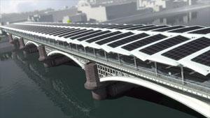 Ponte com teto solar (Foto: Divulgação)