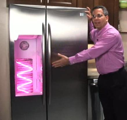Em breve a sua geladeira poderá se conectar à internet (Foto: Divulgação)
