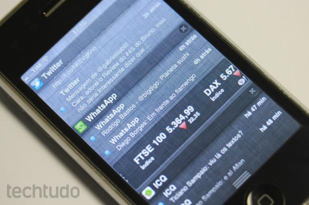 iOS: Eleito o melhor sistema operacional móvel do ano (Foto: Allan Melo/TechTudo)