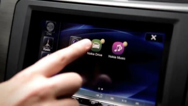 Nokia Car Mode em ação (Foto: Reprodução)