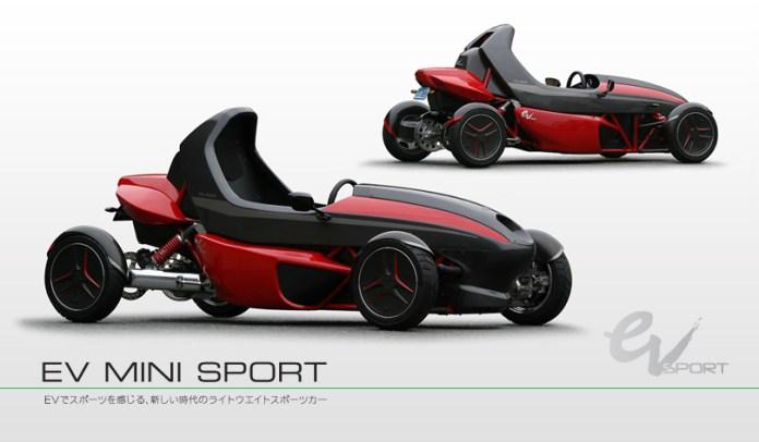 EV Mini Sport (Foto: Divulgação)
