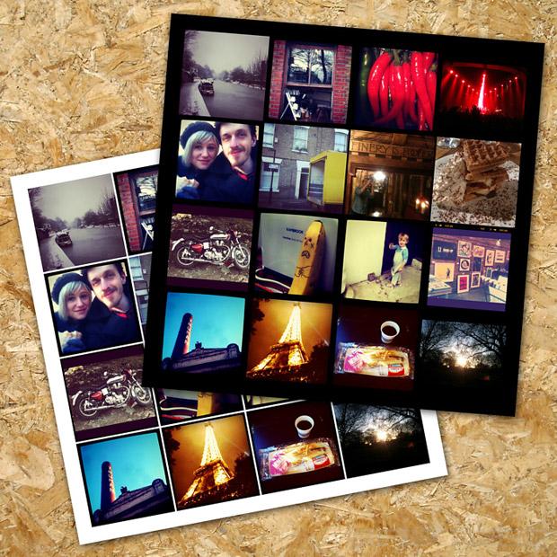 Serviço monta pôsteres com as fotos publicadas no Instagram (Foto: Divulgação)