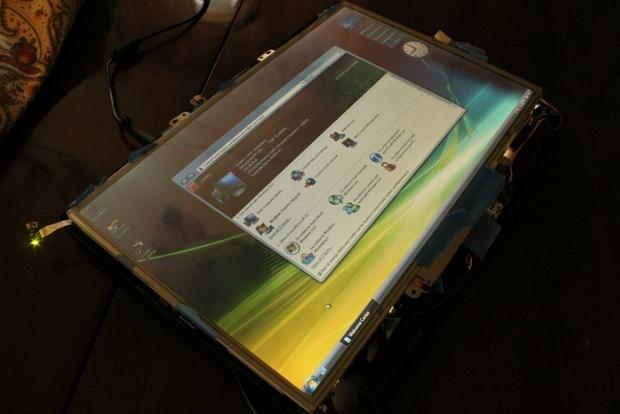 """""""Megatablet"""" tem tela de 17 polegadas e deve pesar apenas 3 quilos (Foto: Reprodução/Mashable)"""
