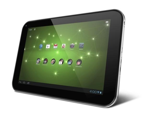 Tablet Toshiba Excite, com Android Ice Cream Sandwich (Foto: Divulgação)