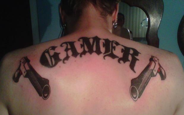 Tatuagem gamer (Foto: Divulgação)