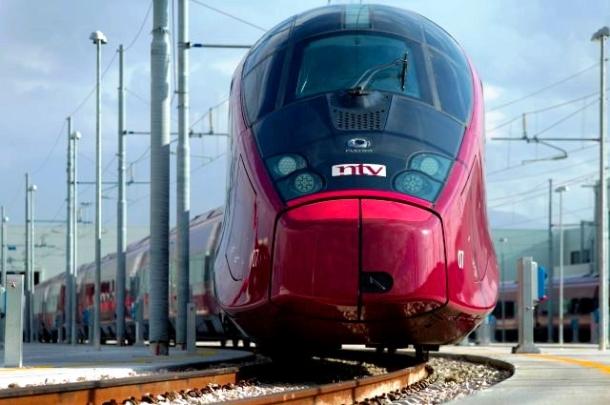 Italo, a Ferrari dos trens (Foto: Reprodução/ NTV)