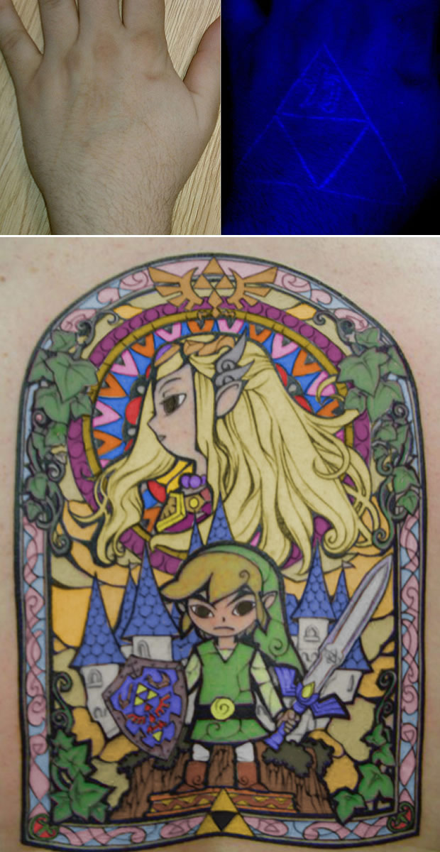 Tatoo gamer (Foto: Zelda-Fans)
