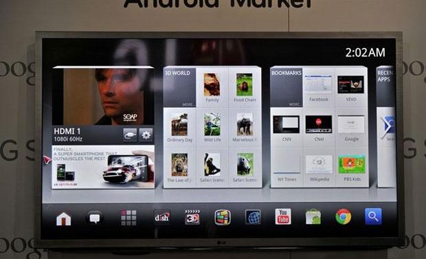 LG será o primeiro fabricante a lançar a segunda geração das Google TV (Foto: Reprodução)