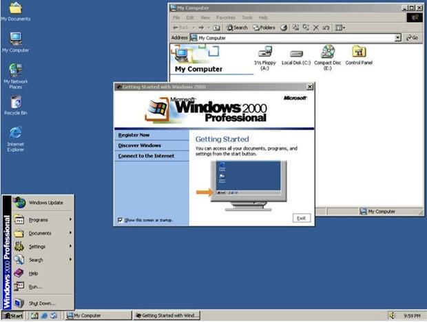 Windows 2000 (Foto: Reprodução / Yoyogames.com)
