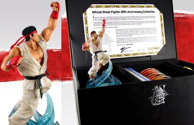 Street Fighter 25th Anniversary Collector's Set (Foto: Divulgação)