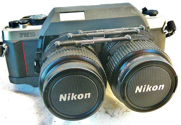 Câmera da Nikon customizada está à venda no eBay (Foto: Reprodução)