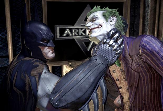 Batman e Coringa em Arkham Asylum (Foto: Divulgação)