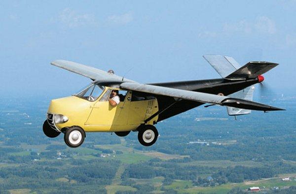 O Transition Taylor Aerocar N-101D ainda é apto ao voo (Foto: Reprodução)