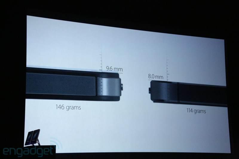 iPhone 5 é ainda mais fino que o iPhone 4S (Foto: Reprodução/Engadget)
