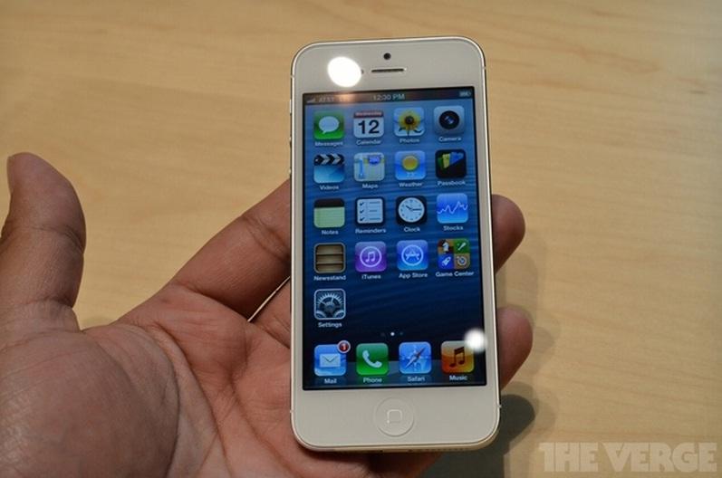 iPhone 5 não suportará simultaneamente ligações e acesso à rede 4G LTE (Foto: Reprodução/The Verge)