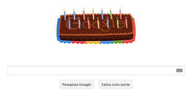 Google comemora o seu 14º aniversário com Doodle animado (Foto: Reprodução/Google) (Foto: Google comemora o seu 14º aniversário com Doodle animado (Foto: Reprodução/Google))