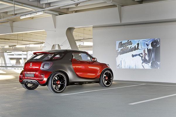 Novo carro conceito da alemã Smart conta com projetor embutido (Foto: Reprodução/ Rik Henderson).jpg